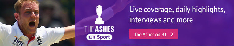 Watch The Ashes on BT Sport