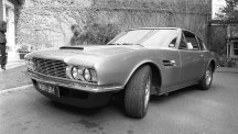 An Aston Martin DBS found in a barn could fetch at least £40,000