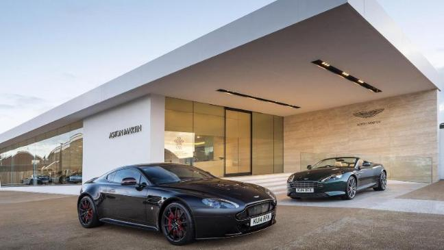 Aston Martins Best Status Symbol Bt