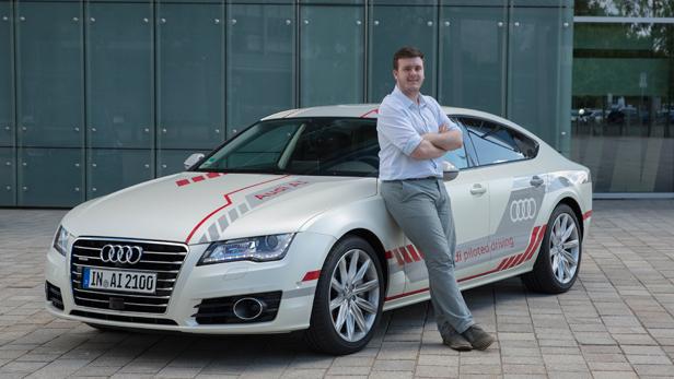 We Try Audis A Jack Selfdriving Car BT - Audi car a7