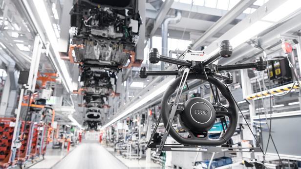 Audi Assistant Drones