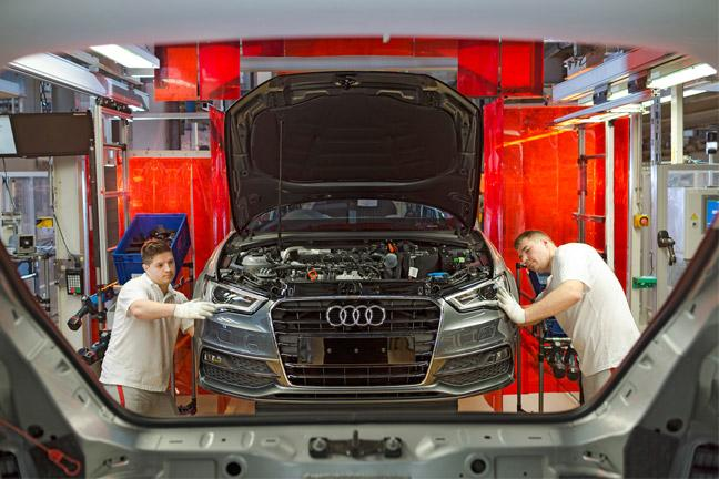Inside The Audi Factory Bt