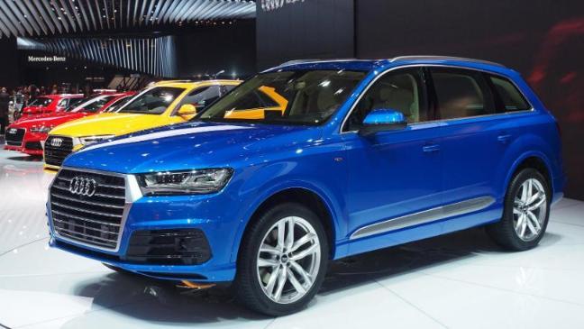 Audi Reveals Allnew Q In Detroit BT - Audi detroit