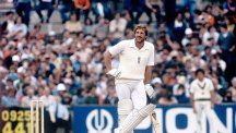 Ian Botham during 1981 Ashes