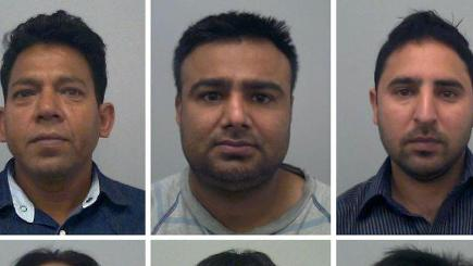 The men were found guilty at the Old Bailey (Thames Valley Police/PA)