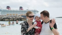 Baby's first holiday: Cruising with Disney