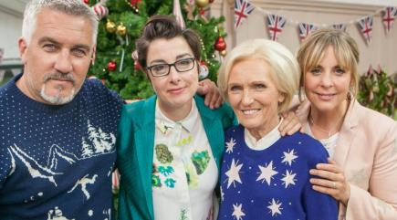 Bake Off and Sherlock among this year's BBC Christmas offerings