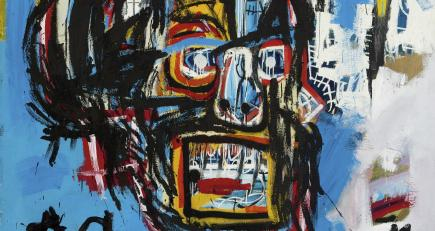 Basquiat canvas soars to record $110.5 million at Sotheby's auction