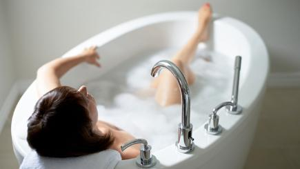 What temperature should your bath be?