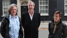 Top Gear presenters James May, Jeremy Clarkson and Richard Hammond had to leave Argentina