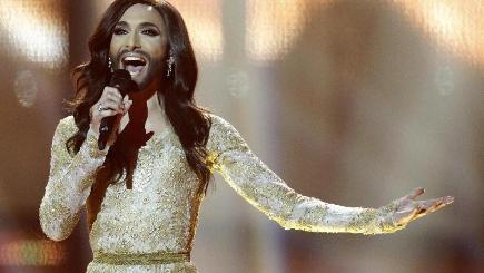 Singer Conchita Wurst won the Eurovision Song Contest for Austria (AP)