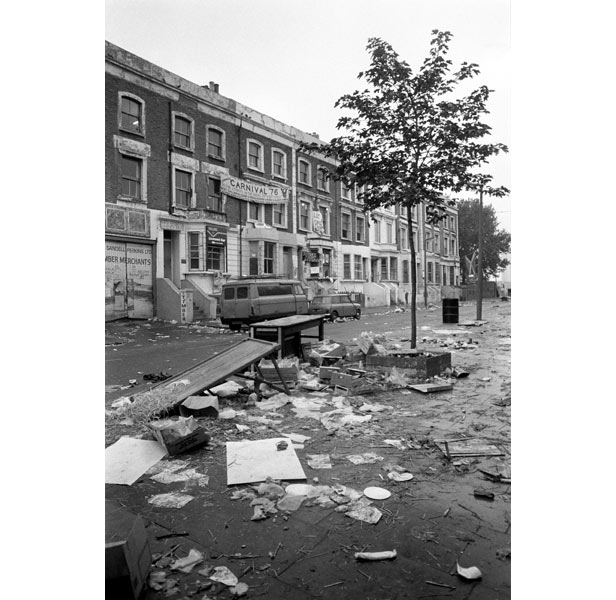 Streets that had earlier played host to the Carnival were deserted.