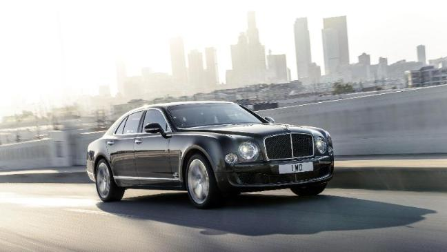 Bentley Launches New 190mph Car