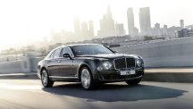 The new Bentley Mulsanne Speed (Bentley/PA)