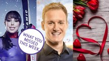 Beth Tweddle, Dan Walker and Valentine's gifts