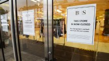 BHS closing down
