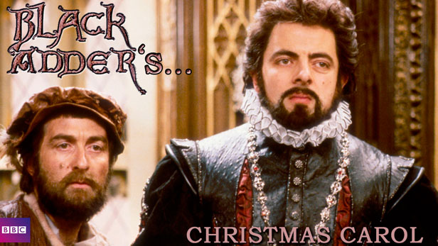 black adder christmas carol