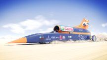 Bloodhound Supersonic car side graphic