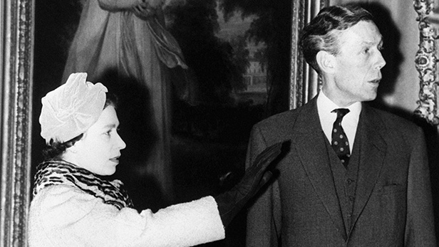 The Queen and Anthony Blunt