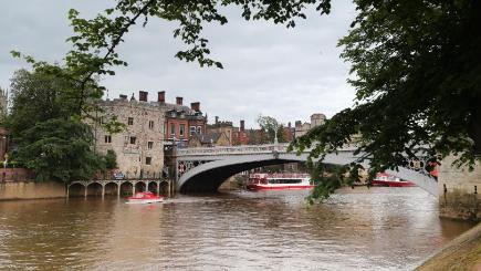 The body was recovered from the River Ouse in York
