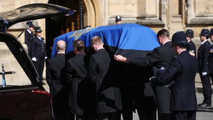 Warwickshire Police officers in London for PC Keith Palmer's funeral