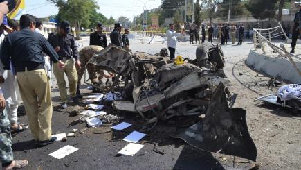Bombings at market in northwest Pakistan kill 15