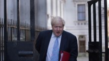 Boris Johnson's comments about the French president have come under criticism