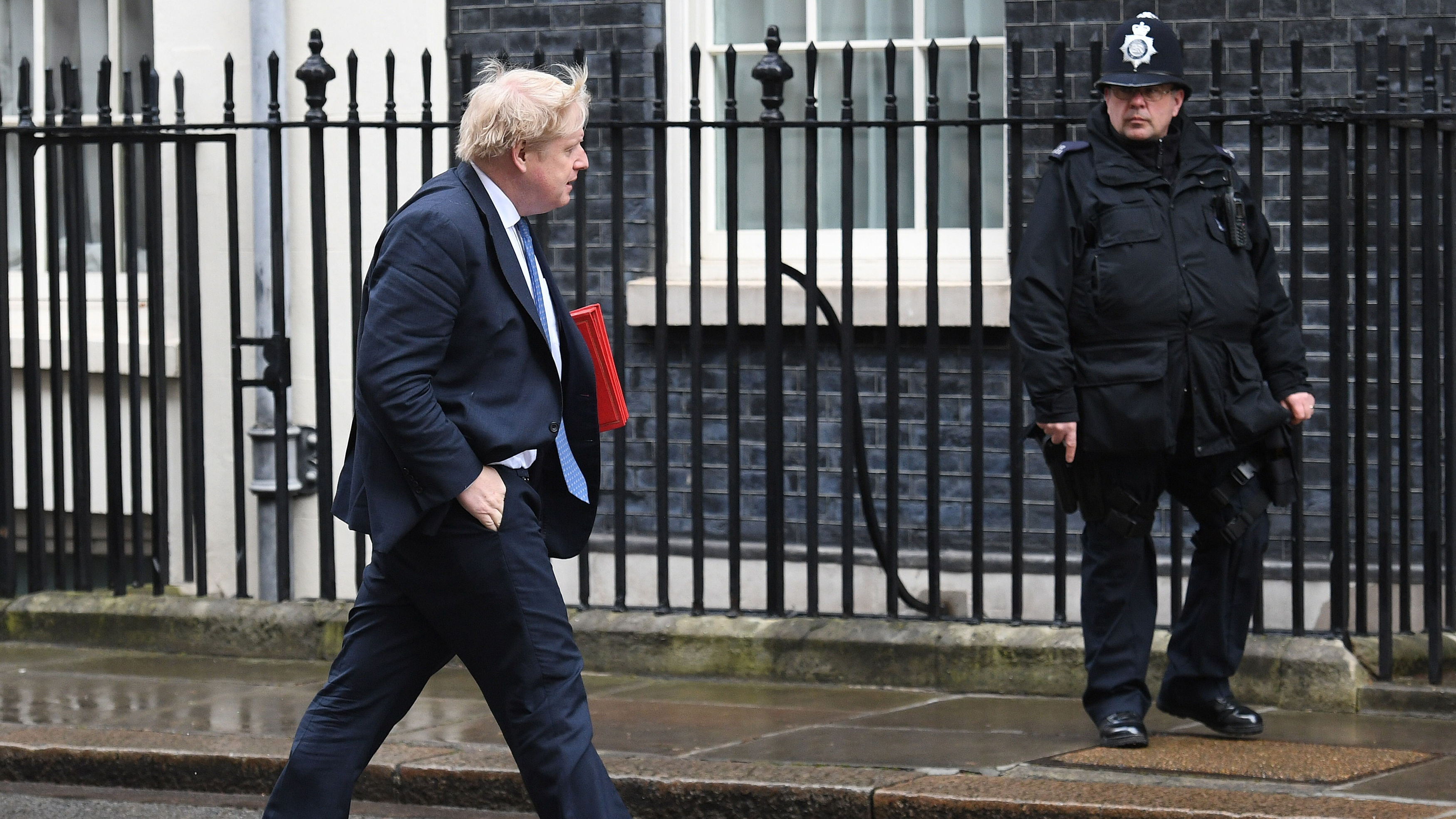 Hard Brexit should hold no 'terrors' for UK: Johnson
