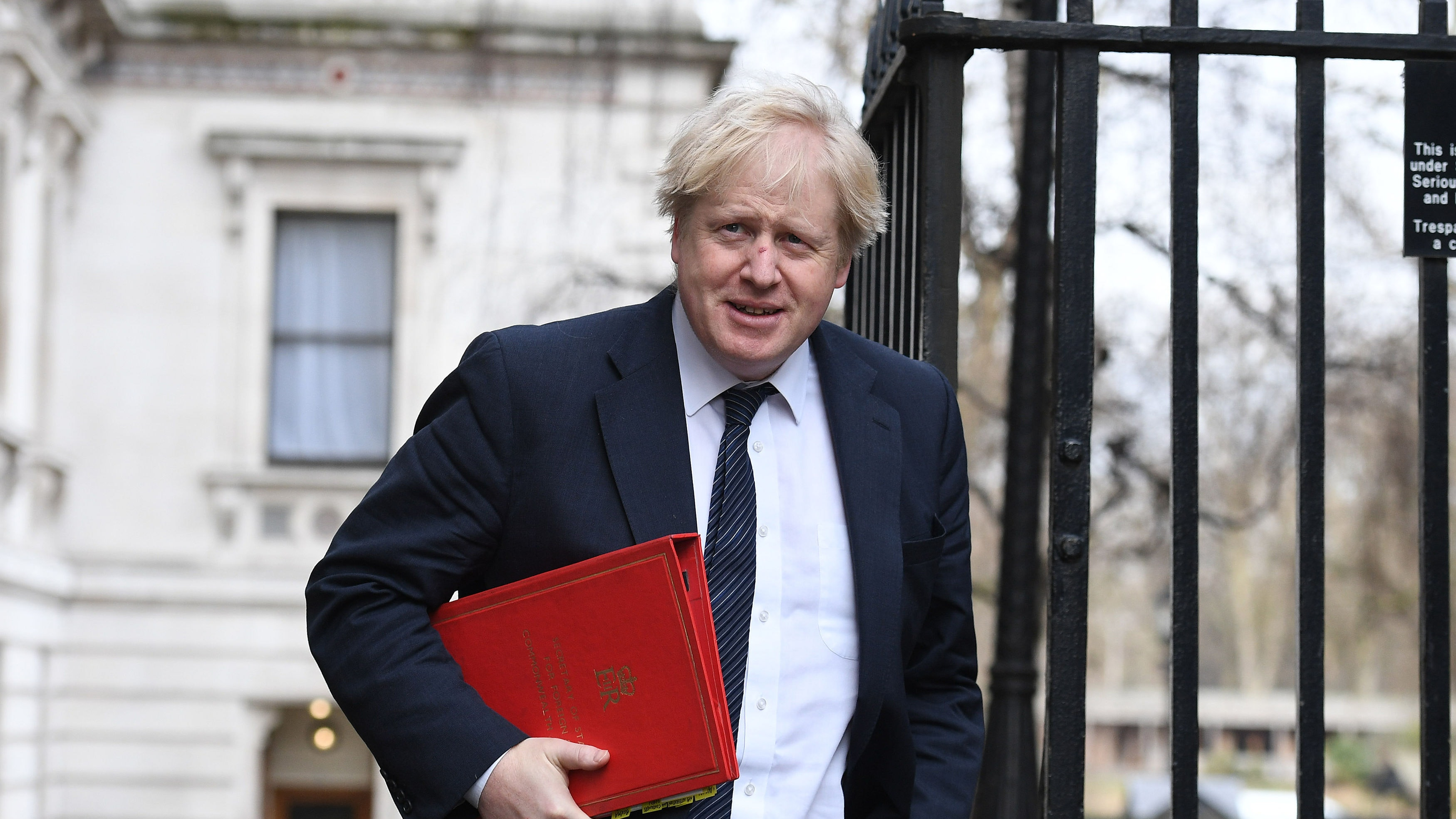 Boris Johnson in 'complete conformity' with undecided Brexit plan