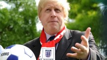 Boris Johnson conceded a blind spot in his sporting knowledge