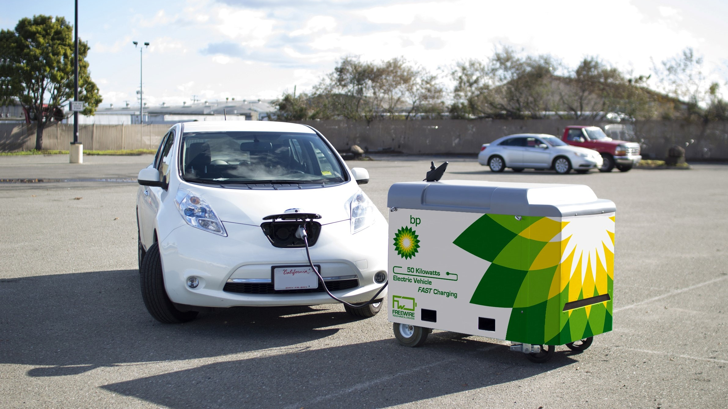 BP Invests $5M in Mobile EV Charging Company