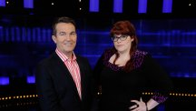 Bradley Walsh and Jenny 'The Vixen' Ryan