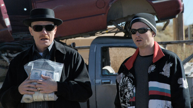 Breaking Bad - Bryan Cranston and Aaron Paul