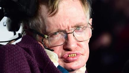 Professor Stephen Hawking says many young scientists are now recruited from Europe