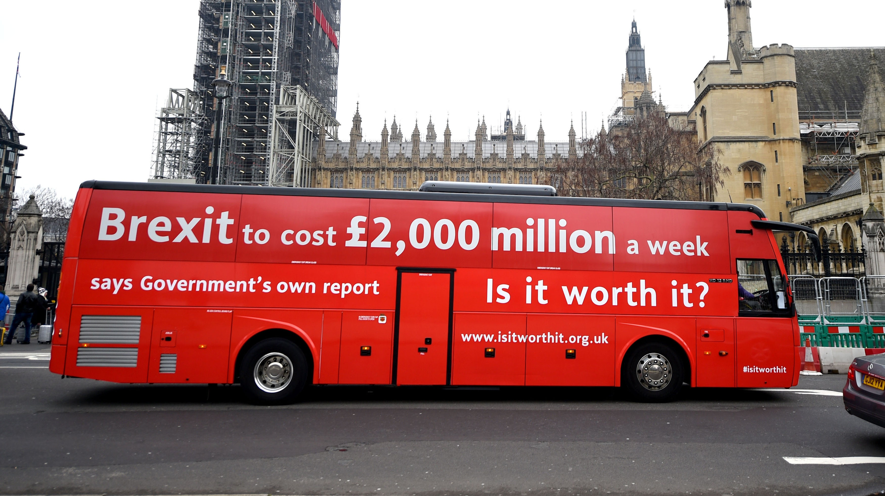 Real Driving Games >> Brexit Bus: Is 2,000 million a real number or should it be 2 billion? | BT