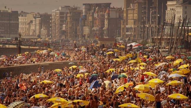 Today in history� Brits swelter in record August heat