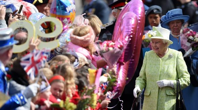 Britain Was At Its Flag Waving Best For The Queens 90th Birthday Celebrations