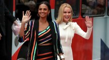 Britain's Got Fashion! Alesha Dixon and Amanda Holden have BGT style-off