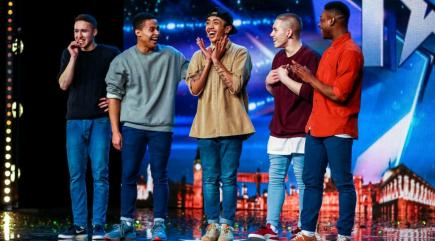 Boyband on Britain's Got Talent