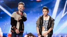 Britain's Got Talent contestants Bars and Melody  Pic: ITV Pictures