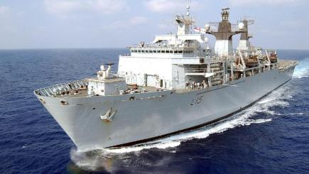 HMS Bulwark as the UK is to commit  to the biggest Nato military exercise to take place in 13 years.