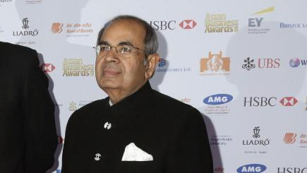 GP Hinduja and his brother were named the top UK billionaires