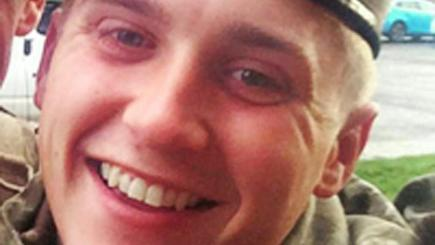 Death in Iraq of Lance Corporal Scott Hetherington