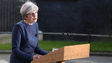 Theresa May: We won't be doing television debates