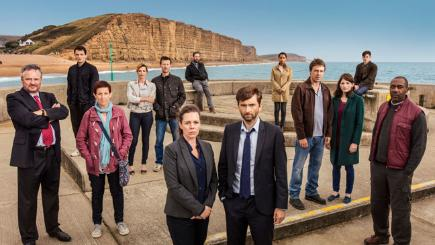 The cast of series 3 of Broadchurch. Photo credit: ITV
