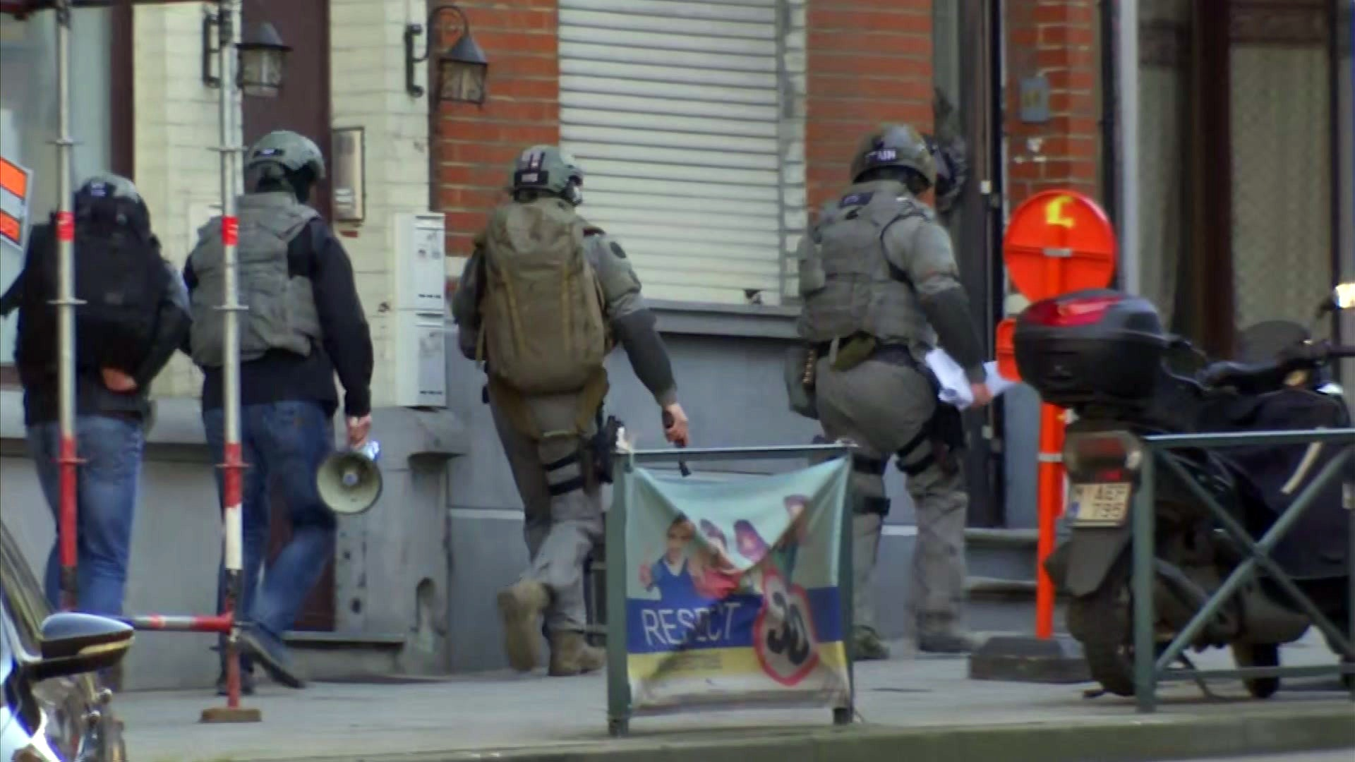 Police operation in Brussels, terrorism ruled out