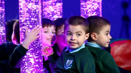 Multi-sensory room at Cedar Lodge