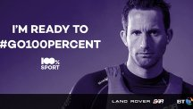 BT and Sir Ben Ainslie launched the global 100% Sport initiative in 2015