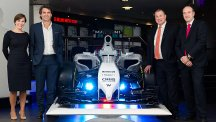 BT and Williams agree partnership