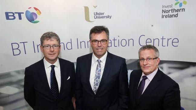 Bt multi-million pound innovation centre in belfast will create up.